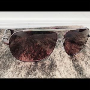 e71ba6f0bb59 Chrome Hearts Accessories - Black Cherry Silver Hank Chrome Hearts  Sunglasses